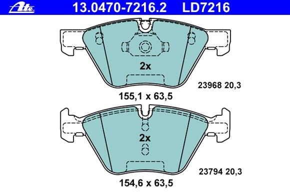 Ceramic 13.0470-7216.2
