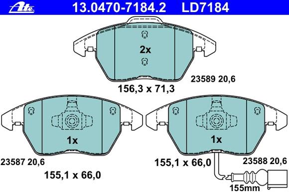 Ceramic 13.0470-7184.2