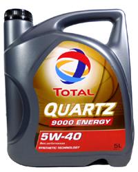 Quartz 9000 Energy 5w-40 (5 Liter)