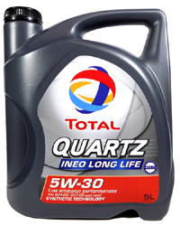 Quartz Ineo Long Life 5w-30 (5 Liter)
